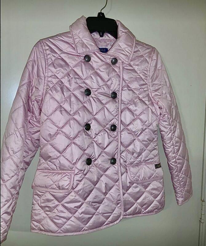 Beautiful pink girls Ralph Lauren puffer jacket sz 12/14