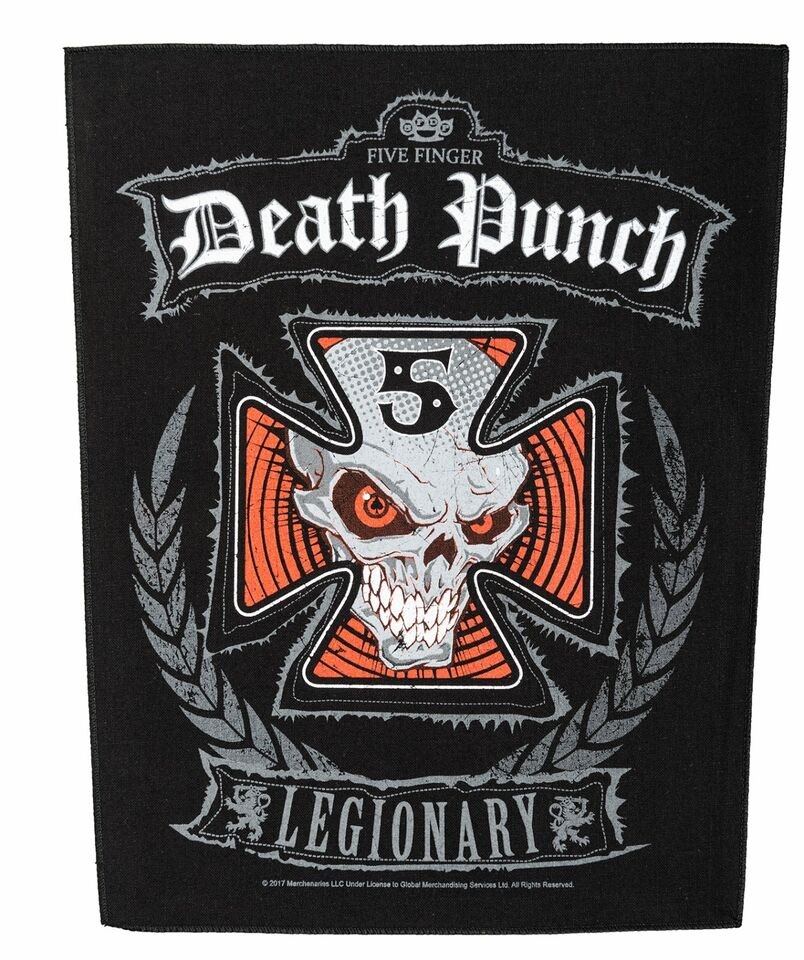 Five Finger Death Punch Rückenaufnäher Legionary  FFDP Backpatch in Gescher
