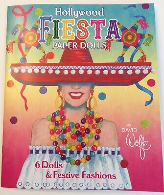 Hollywood Stars Costumes (HOLLYWOOD FIESTA Paper Dolls - Classic stars and movie)