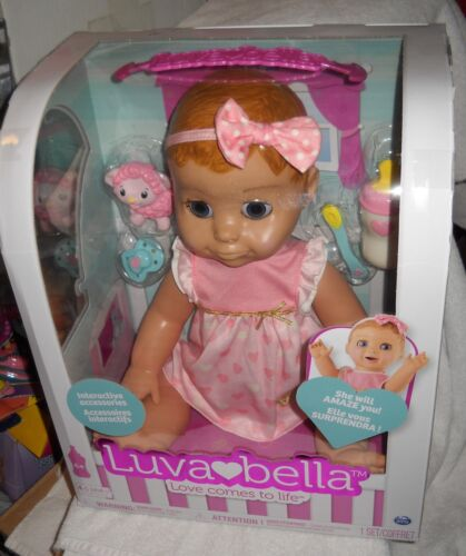 #9625 RARE Spinmaster Toys NRFB Luvabella Loves Comes to Life Doll