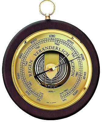 Fischer Barometer für innen, mahagonifarben, 1436R-22