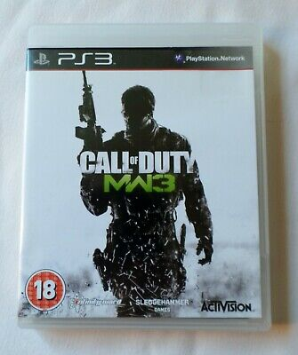 Used, PS3: CALL OF DUTY MW3 (Rated 18) for sale  Shipping to Nigeria