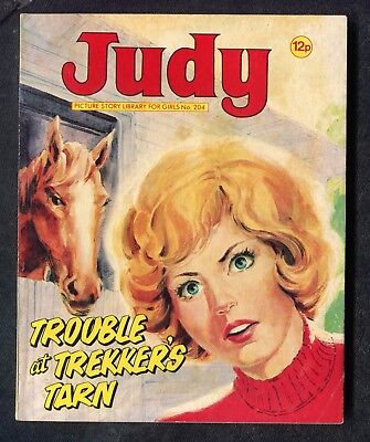 1980: Judy Picture Story No 204 Trouble at Trekkers Tarn: Tin Lizzy