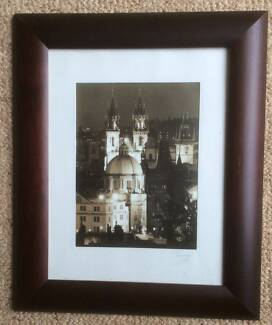 Prague framed photograph Prahran Stonnington Area Preview