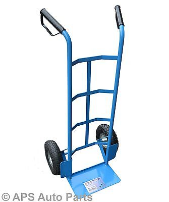 250kg Heavy Duty Industrial Sack Truck Hand Trolley Wheel Barrow Cart New