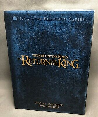 The Lord of the Rings The Return of the King DVD 2004 4-Disc Set Extended