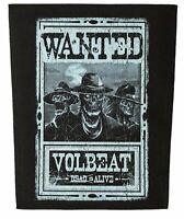 Volbeat Rückenaufnäher  WANTED Backpatch Lizenzware Nordrhein-Westfalen - Gescher Vorschau