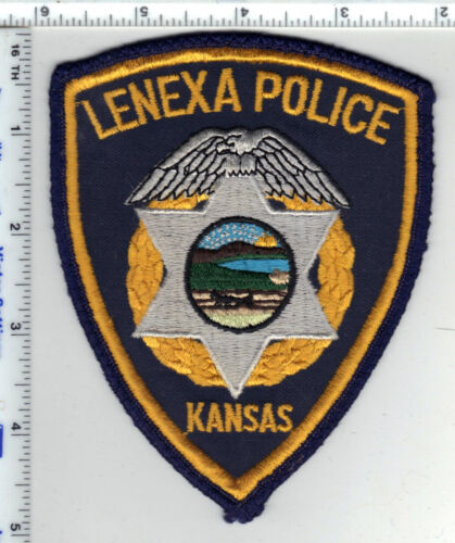 Lenexa Police (Kansas) Shoulder Patch - new from the Early 1980