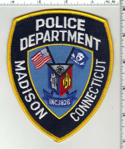 Madison Police (Connecticut) 3rd Issue Shoulder Patch