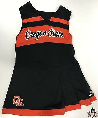 Adidas Child 3T Oregon State Beavers Football Cheerleader Halloween Costume