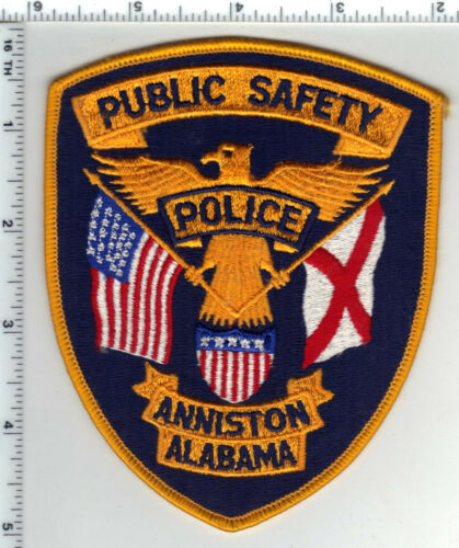 Anniston Public Safety (Alabama) Shoulder Patch from the 1980