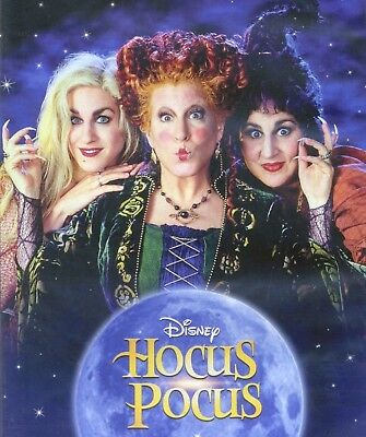 Hocus Pocus 1993 Disney PG Halloween witches comedy movie, new DVD 25th Anniv Ed](Disney Halloween Witch Movies)