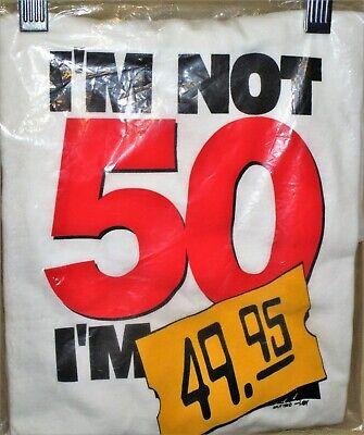 Mens L funny 50th birthday party gift idea gag joke tee shirt Delta Pro T-Shirt - 50th Gag Gift Ideas
