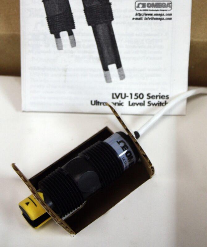 New Omega LVU-150 Ultrasonic Level Sensor, Water, Liquid