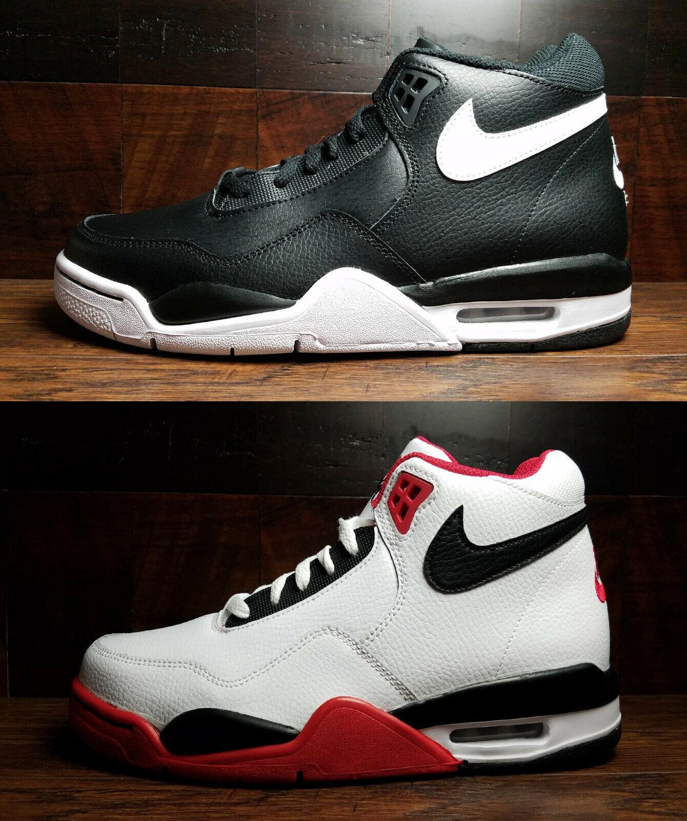 Nike Air Flight Legacy Mens Retro High Top Basketball Sneakers BQ4212 Sz  7.5-13