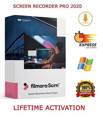 2-in-1 Screen recorder and Video Editor filmora - lifetime activation  2020