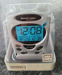 Target home NAP TIMER Digital Travel Alarm Clock(Snooze/Light)