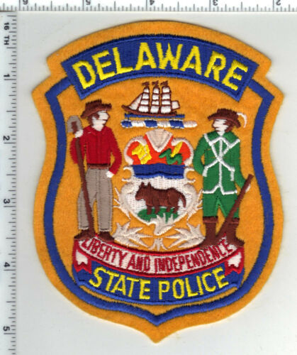 State Police (Delaware) 5th Issue Shoulder Patch