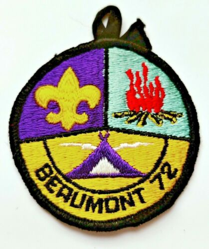 Camp Beaumont 1972 Greater Cleveland Council Patch Boy Scouts BSA OH