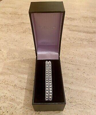 Silver Diamante Bracelet with Clasp by Jon Richard