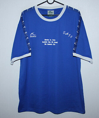 Greenock Morton Scotland special cup football shirt 2010 vs Celtic  Size L image