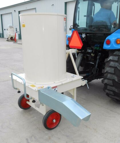 Square Bale Processor,Hay,Straw Shredder&Blower: Peruzzo Livestock Hay Shredder!