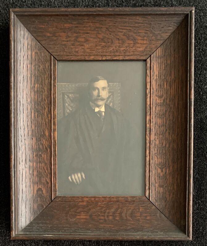 Arts & Crafts Quartersawn White Oak Frame ~ Rhode Island Supreme Court