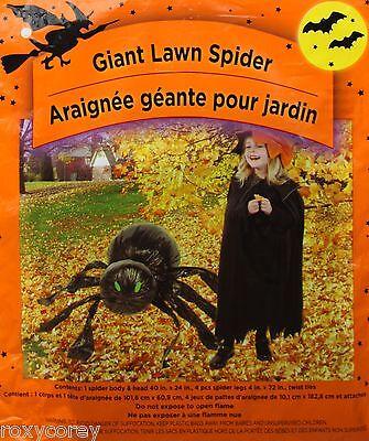 Spider Leaf Bag (Halloween Giant Lawn Spider Leaf Bag)
