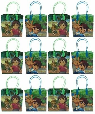 Diego Goody Bag Party Goodie Gift Birthday Candy Bags - Diego Birthday Party