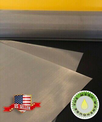 100 Mesh 150 Micron 12x36- Stainless Steel Screen Dry Ice Bucket- Usa Stock