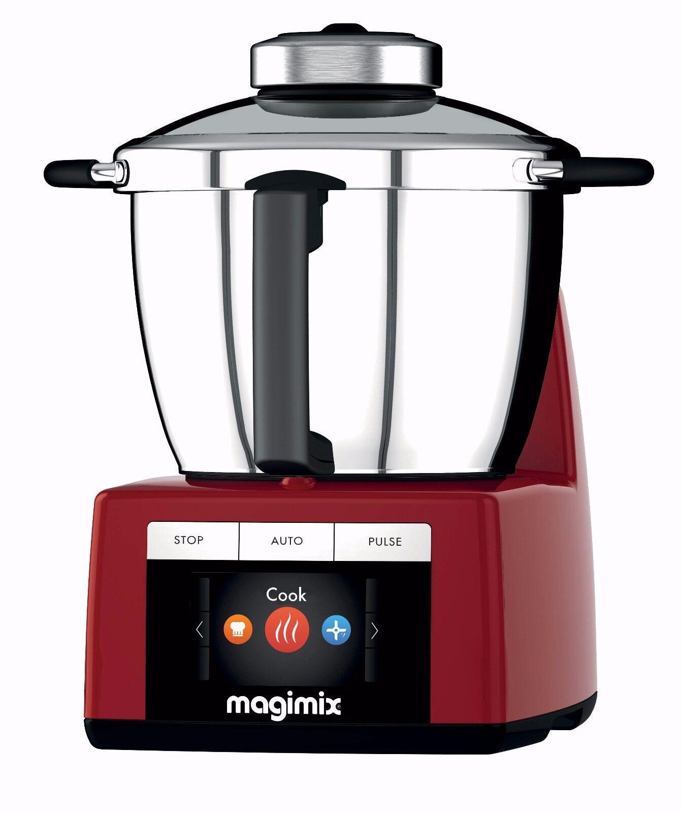 Küchenmaschine Kochen Multifunktion MAGIMIX Cook Expert Rot