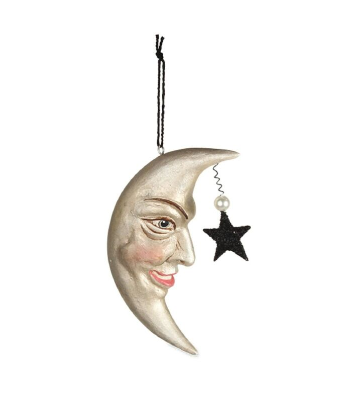 Bethany Lowe Man In The Moon Ornament TL7876 New
