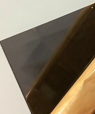 Dark Gray Smoke Transparent Acrylic Plexiglass Sheet 18 X 12 X 12 2074