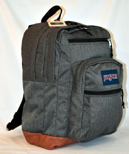 New JanSport Cool Student Laptop Backpack -- Black White Herringbone