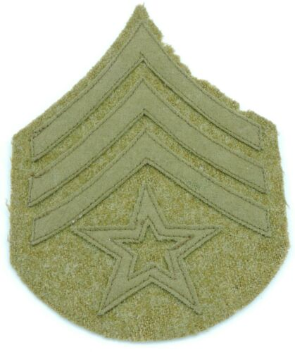 WWI US Army Color Sergeant Shoulder Insignia