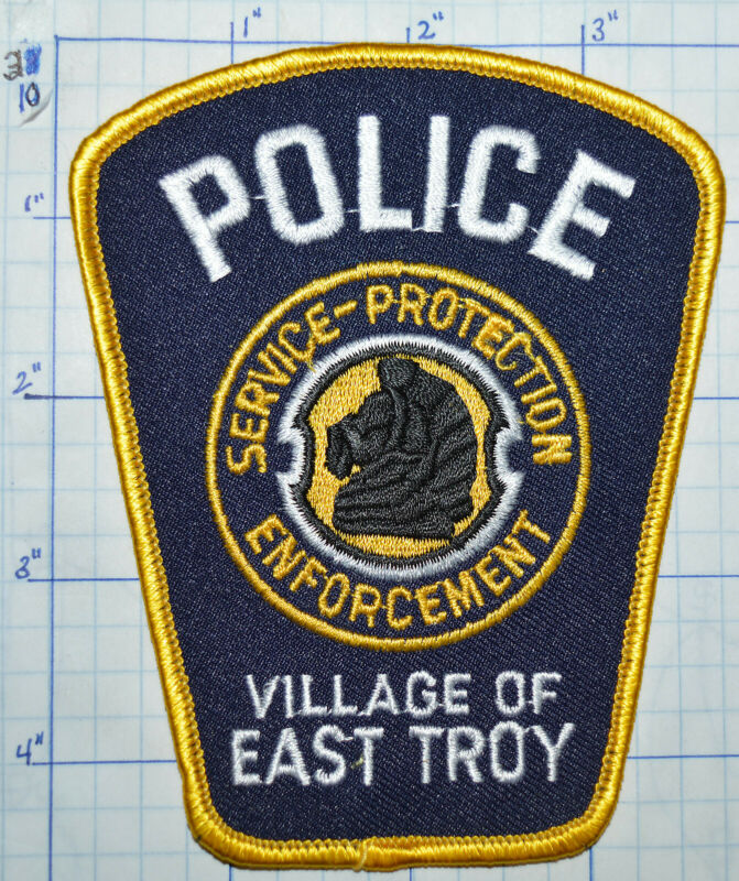 WISCONSIN, EAST TROY POLICE DEPT PATCH