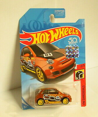 Hot Wheels 2018 RLC Factory Sealed Super Treasure Hunt Fiat 500 Real Riders