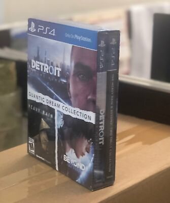 PS4 Detroit+ Heavy Rain & Beyond Two Souls 3 in 1 QUANTIC DREAM Collection (US)