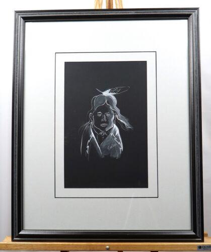 Original Navajo Painting by Andy Tsinajinnie