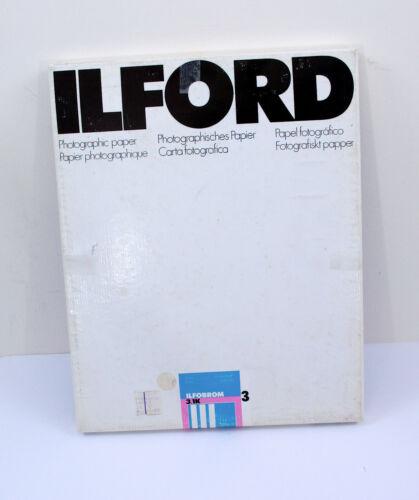 Vintage Ilford Ilfobrom 3.1k 11 x 14 Grade 3 Paper (50 sheets)