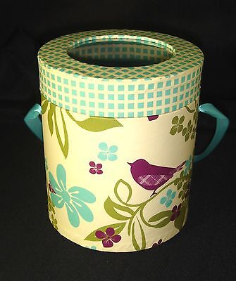Paula Deen Favor Cylinder Round Treat Box Cookies Candy Gift 4.5