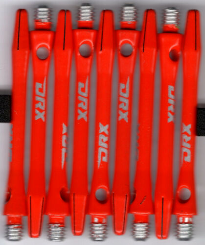 2in. 2ba ORANGE DRX Coated Aluminum Dart Shafts: 1 set of 3