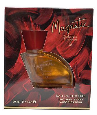 Gabriela Sabatini Magnetic Perfume Women 0.7oz Eau de Toilette Spray Vintage for sale  West Covina