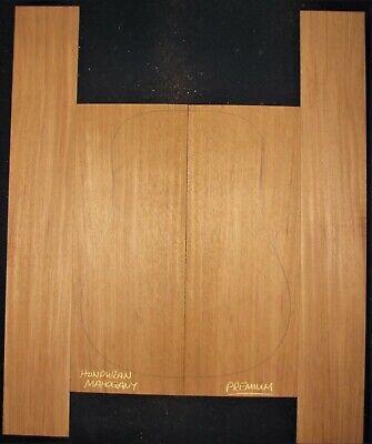 Guitar Luthier Tonewood QUARTERSAWN HONDURAN MAHOGANY Acoustic backs sides SET Mahogany Tone Wood