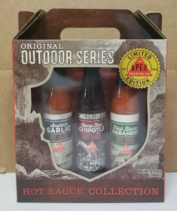 Original Outdoor Series Hot Sauce Collection Apex Trading Co. Limited Edition 3