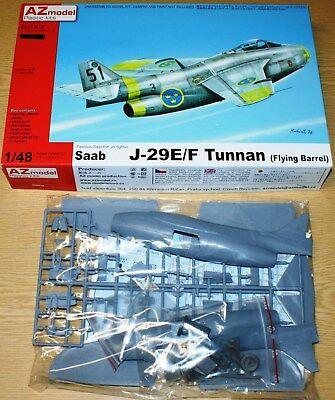 SAAB J-29F Tunnan (re-edition) in 1/48 von AZ-Modell
