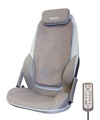 HoMedics Shiatsu MAX Massage Chair for Back & Shoulders Cushion + Heat - Homedics Shiatsu Chair