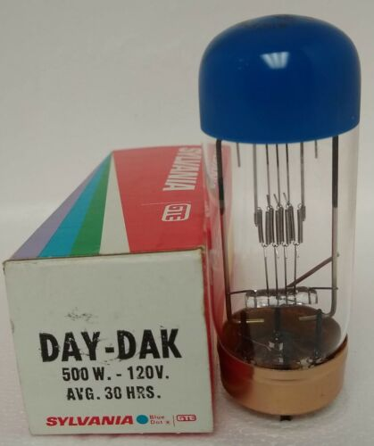 DAY-DAK Sylvania Projector Lamp Bulb ( Special Blue Top Edition ) New 500W-120W