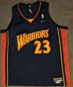 19078ff6a868 Warriors 23 Jason Richardson Black Throwback Stitched NBA Jersey