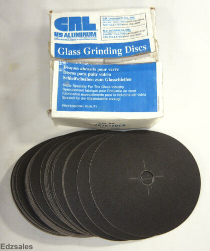 """34 CR Laurence 7"""" Silicon Carbide Glass Grinding Discs"""